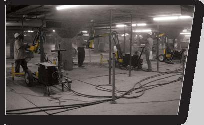 Parking Garage Concrete Chipping