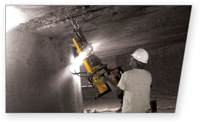 Tunnel Subway Concrete Chipping