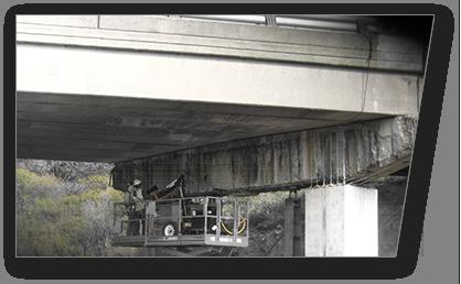 Bridge Overpass Concrete Chipping