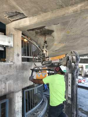 CONTRACTOR USES LEADING-EDGE CONCRETE REPAIR TECHNOLOGY