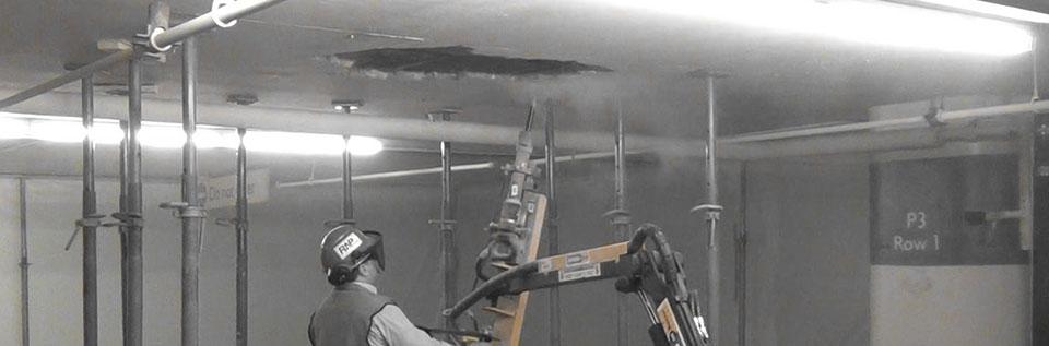 Overhead Jack hammer machinery