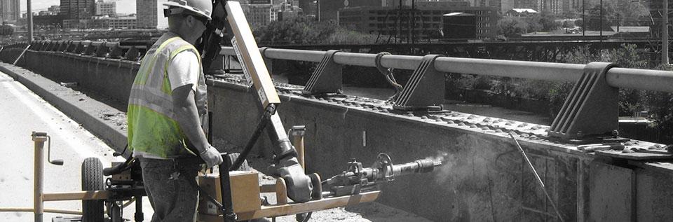 Bridge Concrete Chipping