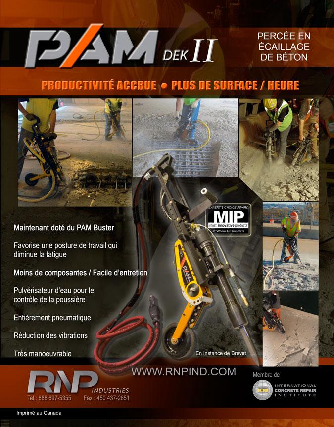 PAM Dek II Brochure